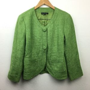 Lafayette 148 Tweed Blazer